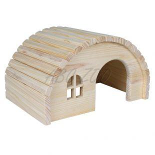 Häuschen für Nager mit rundlichem Dach - mittelgroß