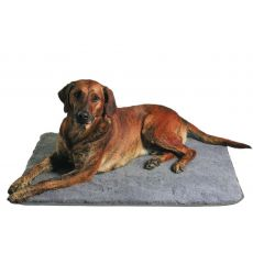 Liegeplatz für Hunde grau - 100 × 75 cm