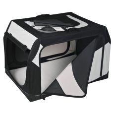 Transportbox für Hunde mit Metallrahmen - 76 × 48 × 51 cm