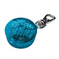 Blinker für Hunde - blau, auf Batterien