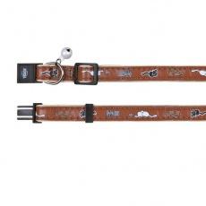Halsband für Katzen, braun - Kätzchen - 18 - 30 cm