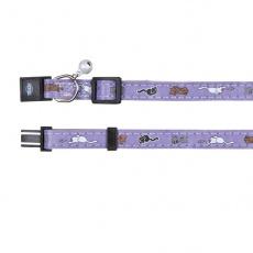 Halsband für Katze, violet - Kätzchen - 18 - 30 cm