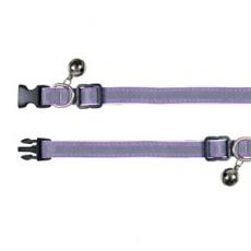 Halsband für Katzen, Reflex, violet - 15 - 20 cm