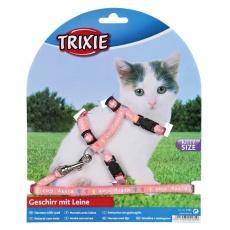 Geschirr mit Leine für Kätzchen Kitty Cat, pink