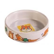 Napf für Hamster, mit Bildchen - Keramik - 100 ml