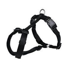 Hundegeschirr schwarz - XS - S, 30 - 40 cm
