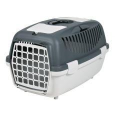 Transportbox für Hunde bis 8 kg - grau