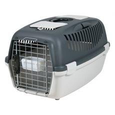 Hundetransportbox bis 12 kg - dunkelgrau