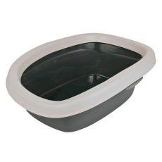 Toilette für Katzen CARLO - grau