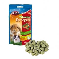 Vitamin Drops für Hasen - mit Gemüse, 75g