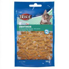 Snacks für Katzen Dentinos - für Zähne, 50g