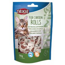 Snacks für Katze - Hühnerfleisch, Kabeljau, 50g