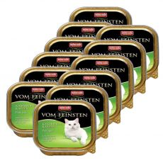 Animonda Vom Feinsten Castrated Cats - Pute pur 12 x 100g