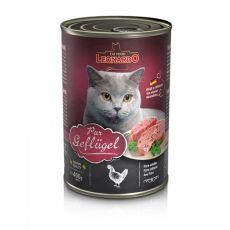 Dosenfutter für Katzen Leonardo - Geflügel 400g