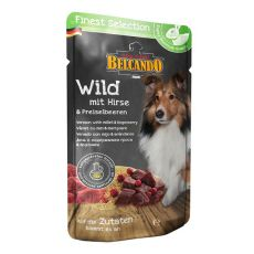BELCANDO Wild mit Hirse und Preiselbeeren - Beutel 300g