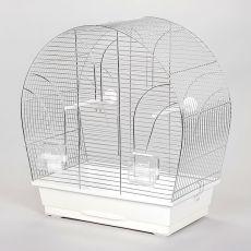 Käfig für Papagei TINA chrom - 51 x 28 x 55 cm