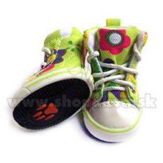Hundeschuhe - Sneakers grün (4St.) - Gr. 1