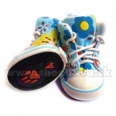 Hundeschuhe - Sneakers blau (4St.) - Gr. 4