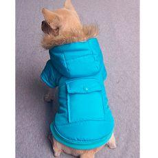 Jacke für Hunde - blau, XS