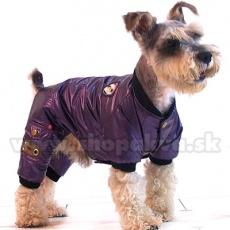 Winteroverall für Hunde - lila, XS