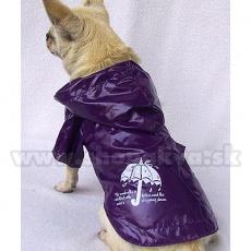 Hunde Regenmantel - lila, Regenschirm, XS
