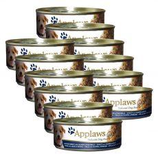 Feuchtnahrung APPLAWS dog Huhn, Lachs und Gemüse -12 x 156g