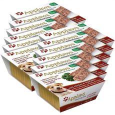 Applaws Paté Dog - Pastete für Hunde mit Hühnerfleisch und Gemüse, 12 x 150g