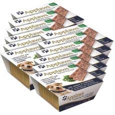 Applaws Paté Dog - Pastete für Hunde mit Lachs und Gemüse, 12 x 150g