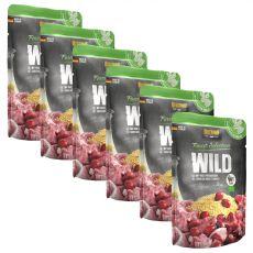 BELCANDO Wild mit Hirse und Preiselbeeren - Beutel 6 x 125 g