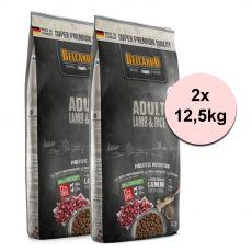 BELCANDO Lamm und Reis 2 x 12,5 kg