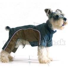 Overall für Hunde - goldengrau, S