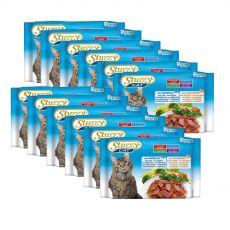 Stuzzy Cat kapsičky MULTIPACK Kabeljau + Lachs 12 x (4 x 100 g)