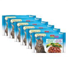 Stuzzy Cat Nassfutter MULTIPACK Huhn + Kalb 6 x (4 x 100 g)
