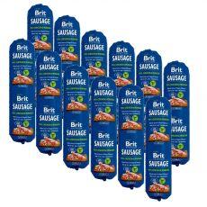 BRIT Sausage Chicken & Venison 12 x 800 g