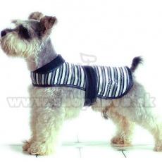 Weste für Hunde - schwarzweiß, XL