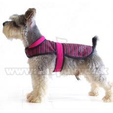 Hundeweste - pinkschwarz, XL