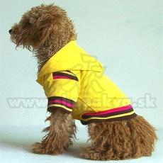 Kapuzenpullover für Hunde - gelb, M