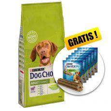 PURINA DOG CHOW ADULT Lamb 14 kg+ GESCHENK