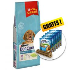 PURINA DOG CHOW PUPPY Lamm & Reis 14kg+ GESCHENK