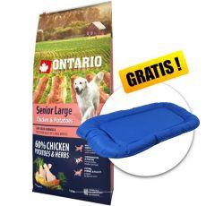 ONTARIO Senior Large - chicken & potatoes 12kg + GESCHENK