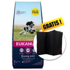 EUKANUBA PUPPY Medium Breed 15kg + 3kg GRATIS + GESCHENK