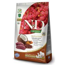 Farmina N&D dog GF QUINOA Skin & Coat Venison 0,8 kg