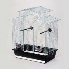 Käfig für Papagei IZA II chrom - 51 x 30 x 60,5 cm