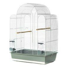 Käfig für Papageien SONIA III chrom - 54 x 34 x 75 cm