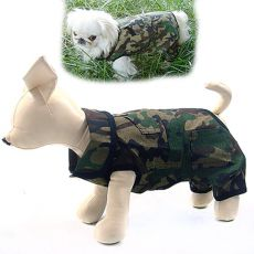 Overall für Hunde CAMOUFLAGE - S
