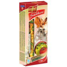 Vitapol Smakers Apfel Stecken für Nager 90g