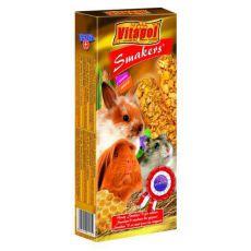 Vitapol Smakers Honig Stecken für Nager 90g