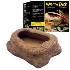 Futterschale für große Würmer