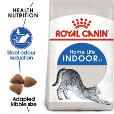 Royal Canin INDOOR 27 - Futter für Katzen lebende im Interieur 4kg