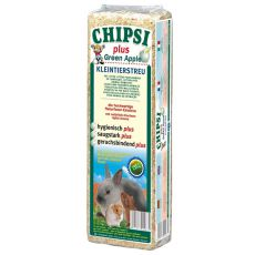 CHIPSI PLUS GREEN APPLE - Streu mit Apfelaroma - 15 L